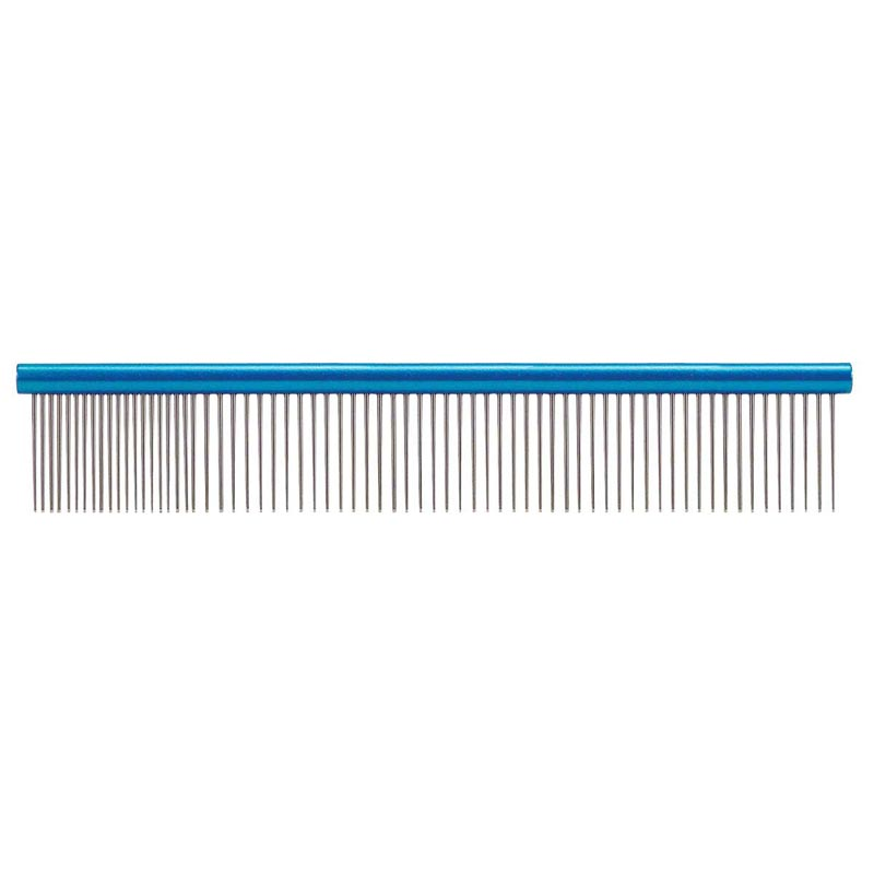 Paw Brothers Large 10 inch Blue Super Comb for Fine and Medium hair