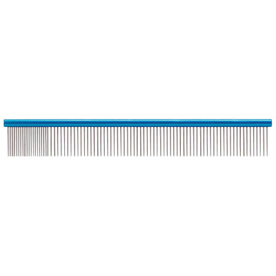 Paw Brothers 12 inch Blue X-Large Super Comb for Fine and Coarse Hair
