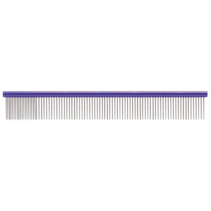 Paw Brothers X-Large 12 inch Purple Super Comb for Fine and Coarse Hair