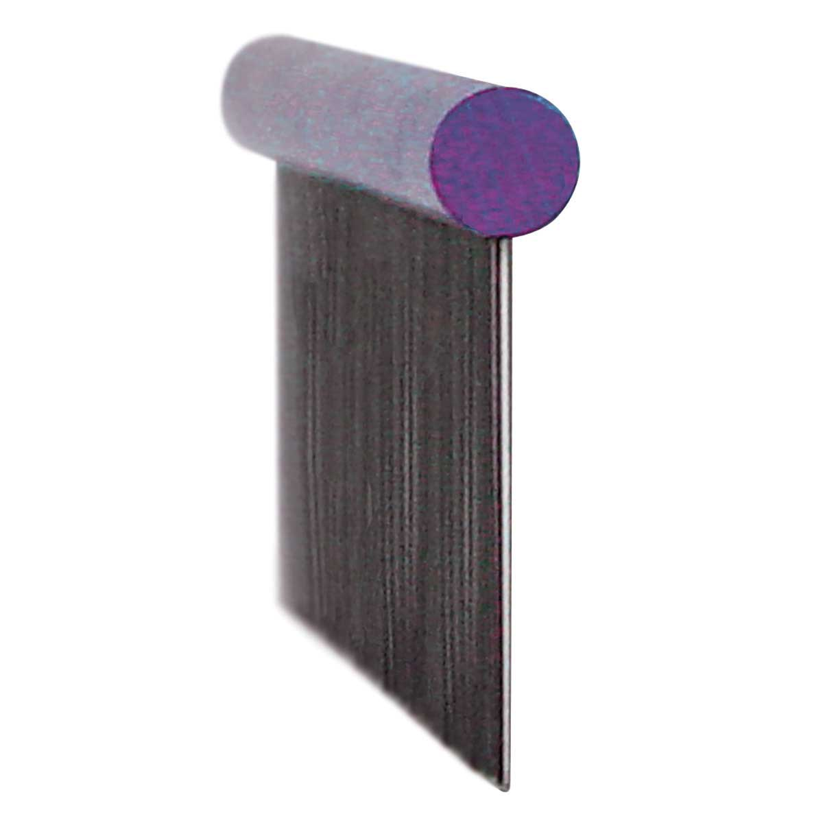 Side View of Paw Brothers X-Large 12 inch Purple Super Comb for Grooming Fine and Coarse Hair