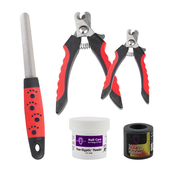 Paw Brothers Basic Nail Care Kit for Dog Grooming