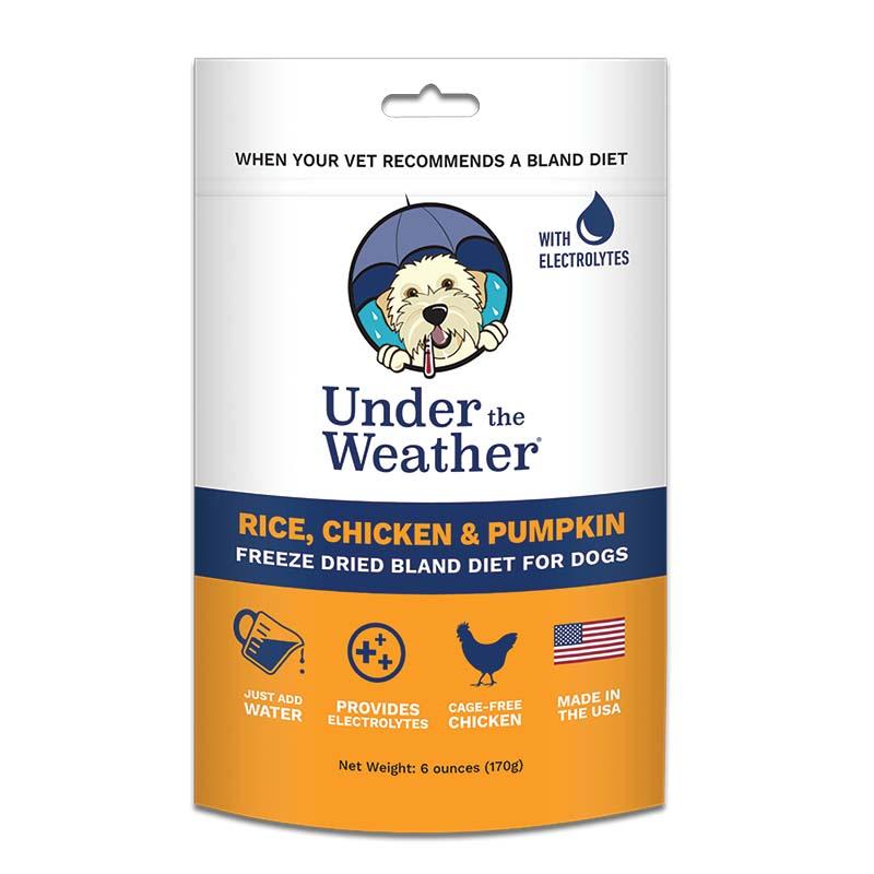 Under the Weather Rice, Chicken and Pumpkin Bland Diet 6 oz