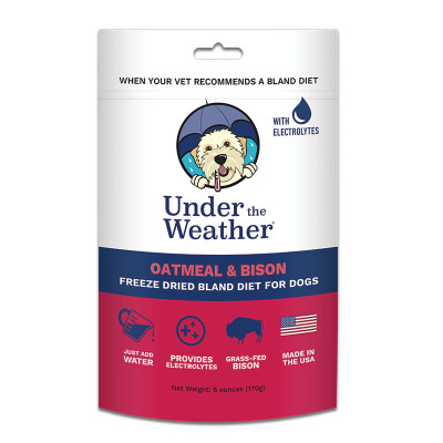 Under the Weather Oatmeal and Bison Bland Diet 6 oz