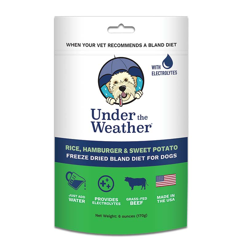 Under the Weather Rice, Hamburger, and Sweet Potato Bland Diet 6 oz