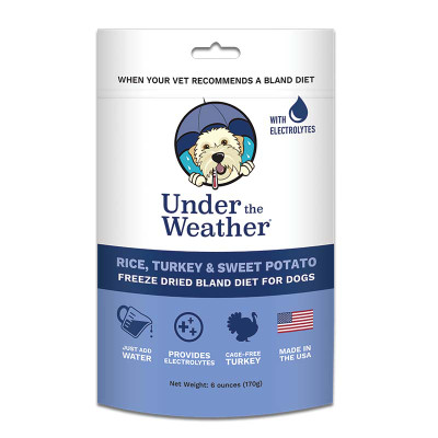 Under the Weather Rice, Turkey and Sweet Potato Bland Diet 6 oz