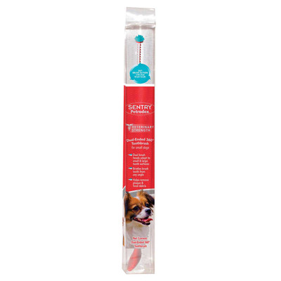 Sentry Petrodex Vet Strength Small 360 Dual-Ended Toothbrush for Small Dogs