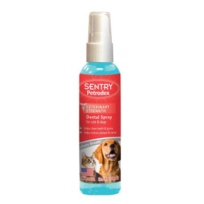 Sentry Petrodex Dental Rinse for Cats and Dogs - 4 oz