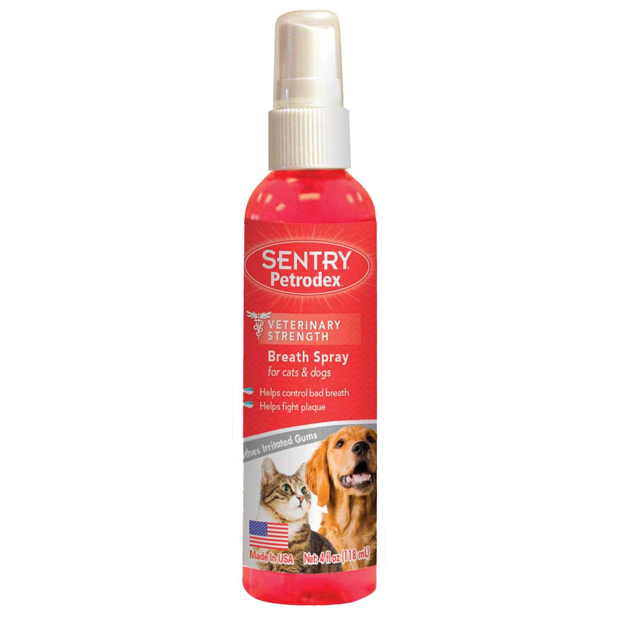 Sentry Vet Strength Petrodex Breath Spray For Dogs and Cats