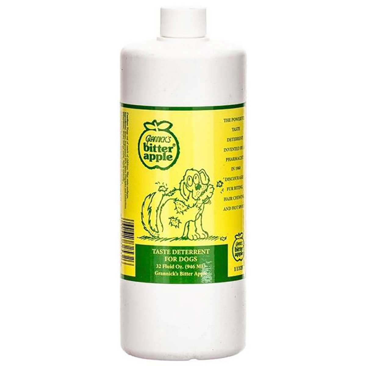 32 oz Bitter Apple Refill - Taste Repellent for dogs available at Ryan's Pet Supplies