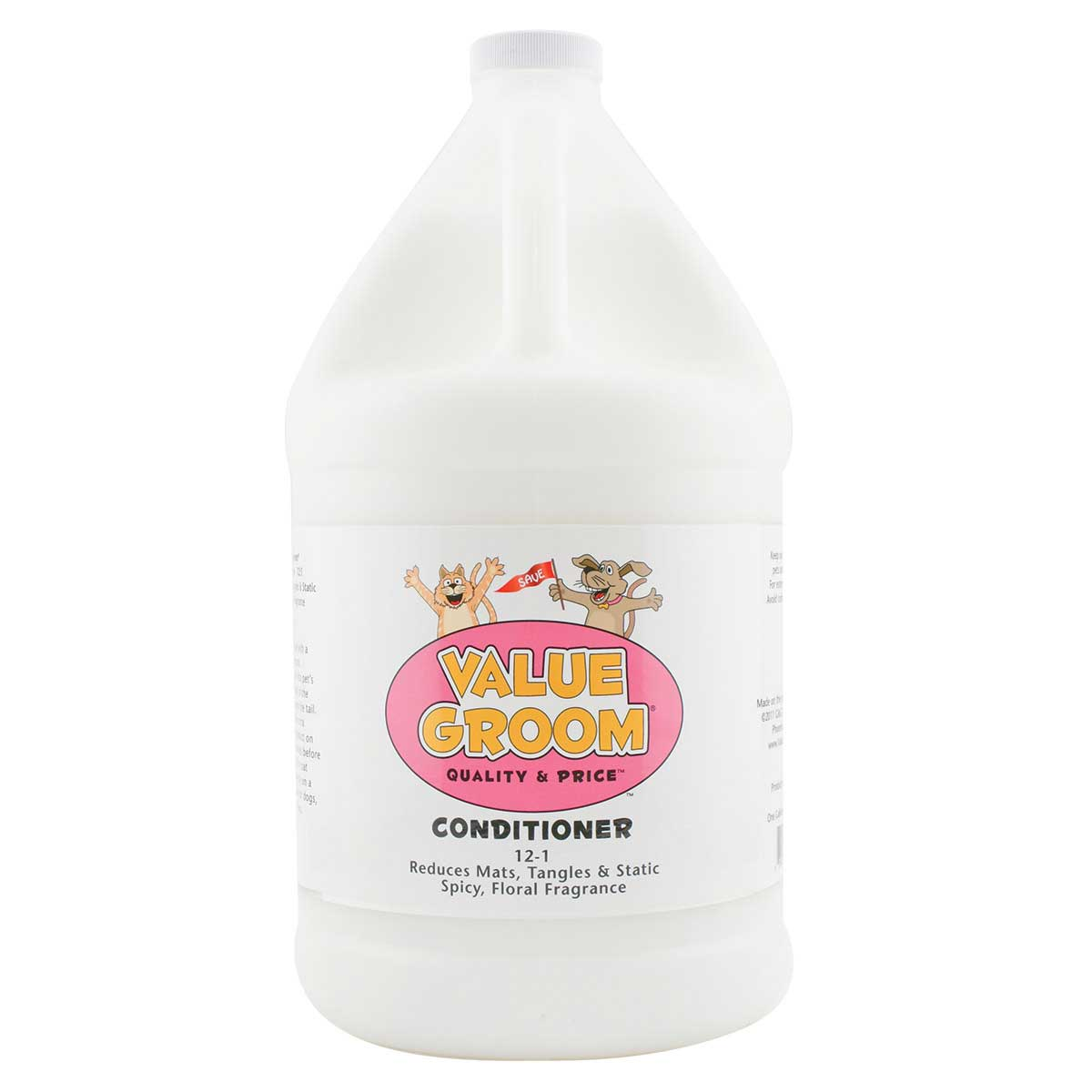 Value Groom Pet Conditioner Gallon - 12:1 Concentration