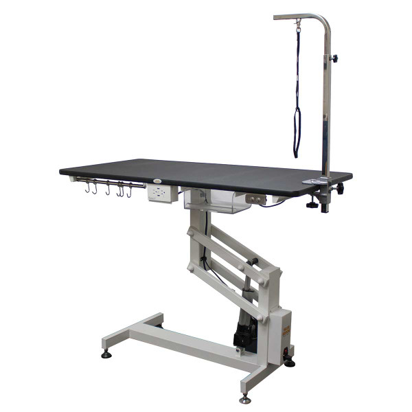 Value Groom Professional Heavy-Duty Electric Grooming Table with Arm - 24 inch by 36 inch