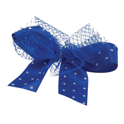 Fancy Finishes Polka Dots With Tulle Dog Bows - 100 Count Bag