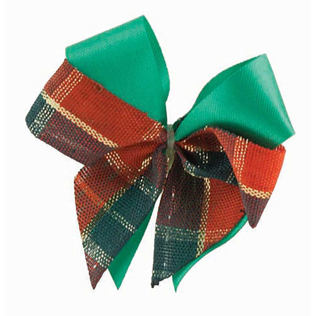Fancy Finishes Holiday Satin and Plaid Bows for Groomers