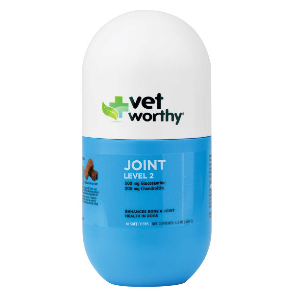 Vet Worthy Joint Support Level 2 Soft Chews 30 Count
