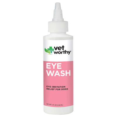 4 oz Vet Worthy Eye Wash for Dogs