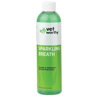 8 oz Vet Worthy Sparkling Breath for dogs