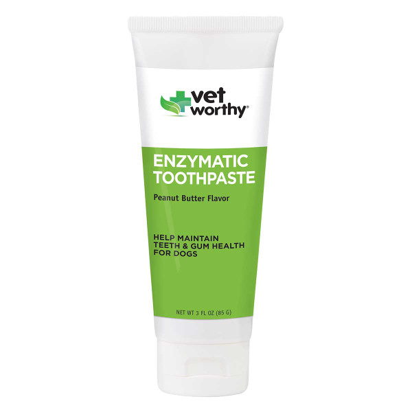 Vet Worthy Enzymatic Toothpaste for Dogs 3 oz