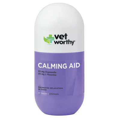 Vet Worthy Calming Aid Tablets 60 Count
