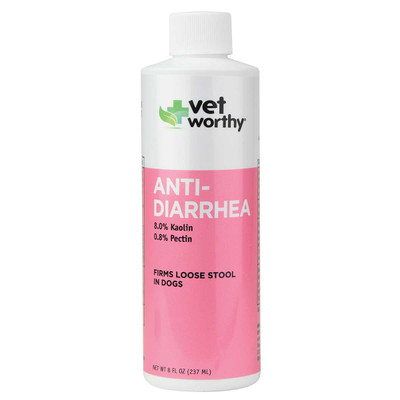 Vet Worthy Anti-Diarrhea for Dogs 8 oz