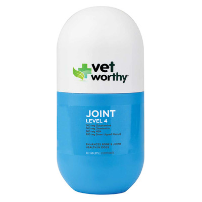 Level 4 Vet Worthy Joint Support Tablets for Dogs 60 Count