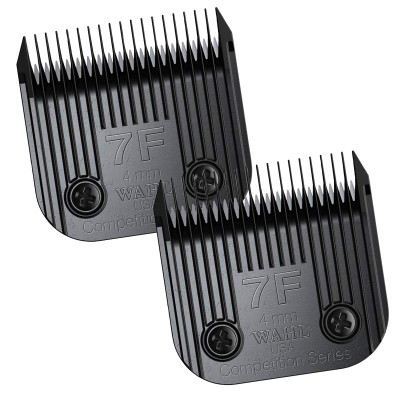 2 Pack of Wahl Competition Series 7F Blades - 4 mm