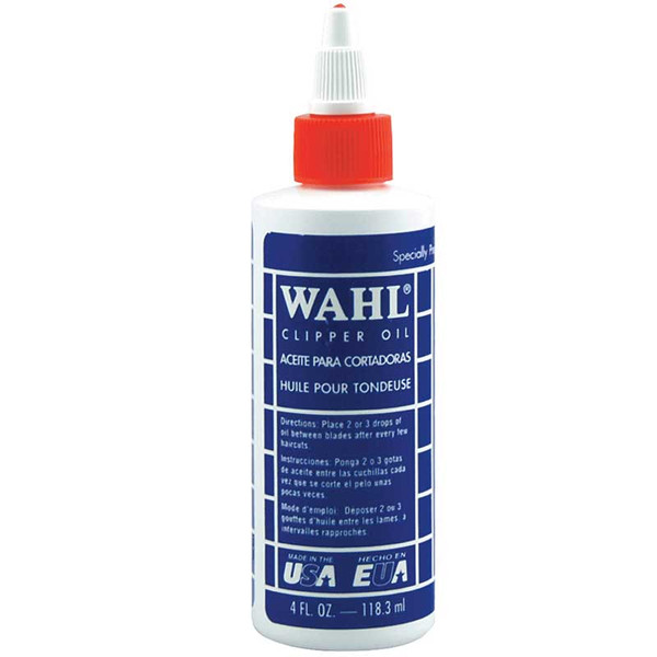4 oz Wahl Blade Oil for Clippers and Blades