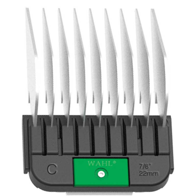 Wahl Stainless Steel Attachment Guide Comb - Size C Cuts 7/8 inch