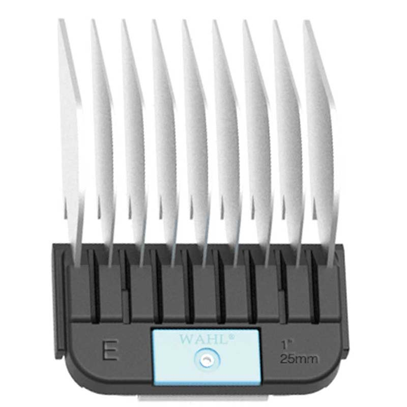 "Wahl Stainless Steel Guide Comb #E (1"") for Grooming"