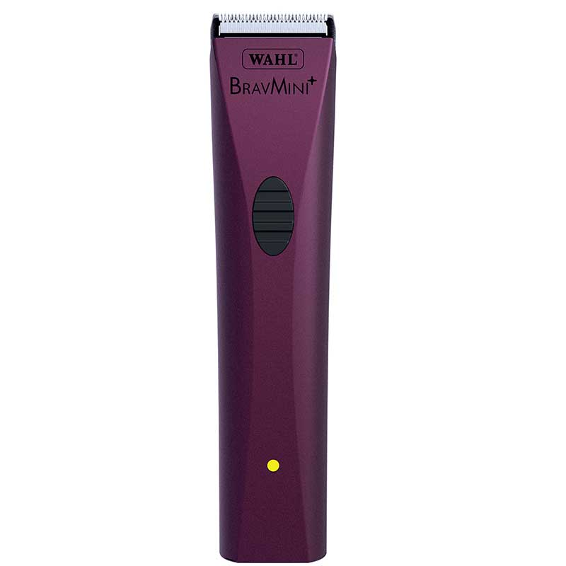 Wahl Bravmini+ Purple Trimmer for Groomers