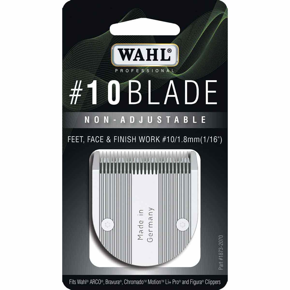 Packaging for Wahl #10 Non-Adjustable 5 in 1 Blade