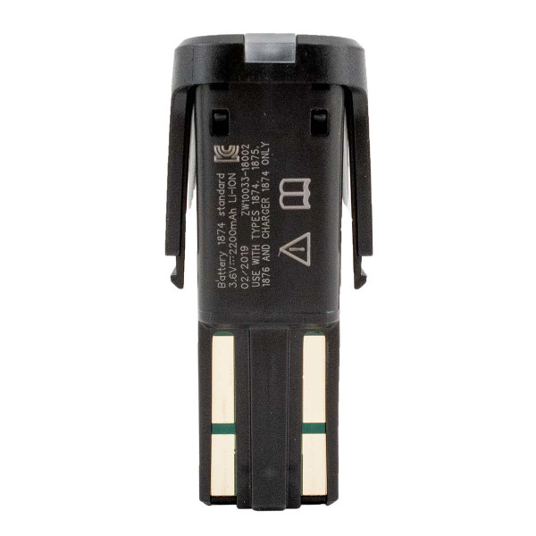 Back of Wahl Creativa Clipper Standard Replacement Battery