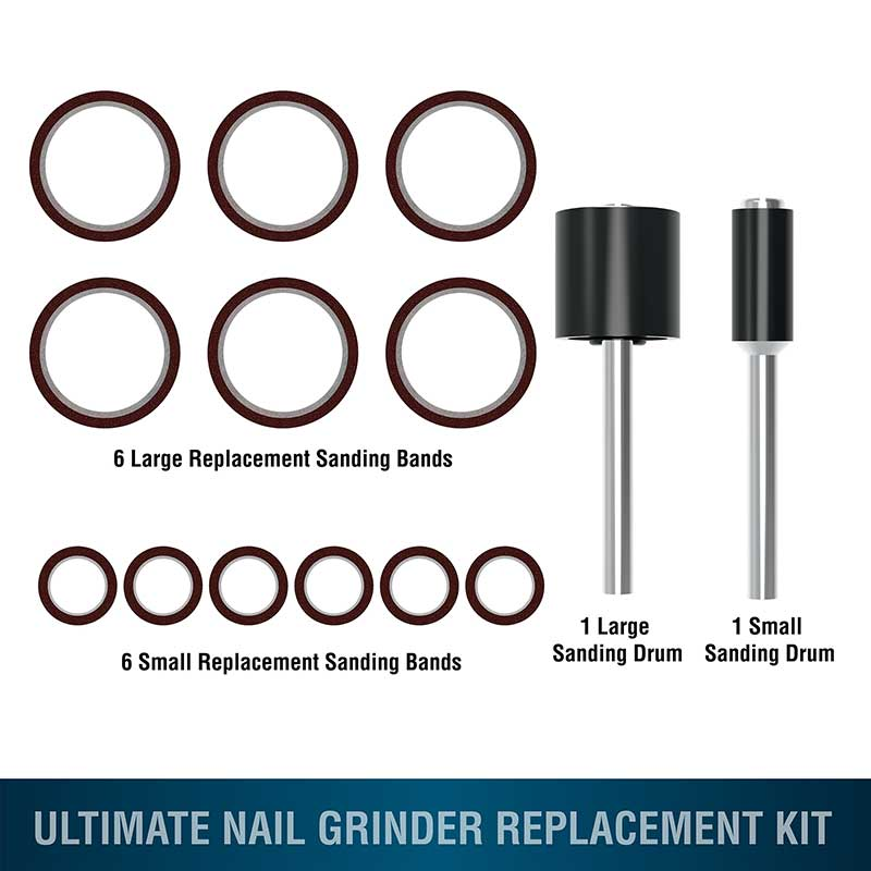 Wahl Ultimate Nail Grinder Replacement Kit for Groomers