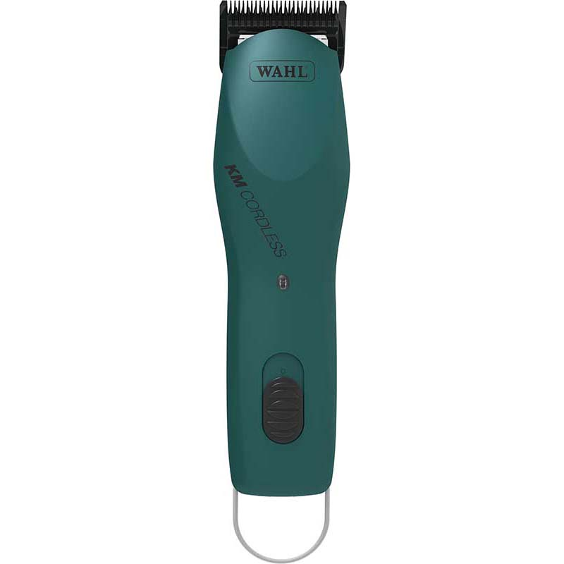 Emerald Green Wahl KM Cordless Grooming Clippers