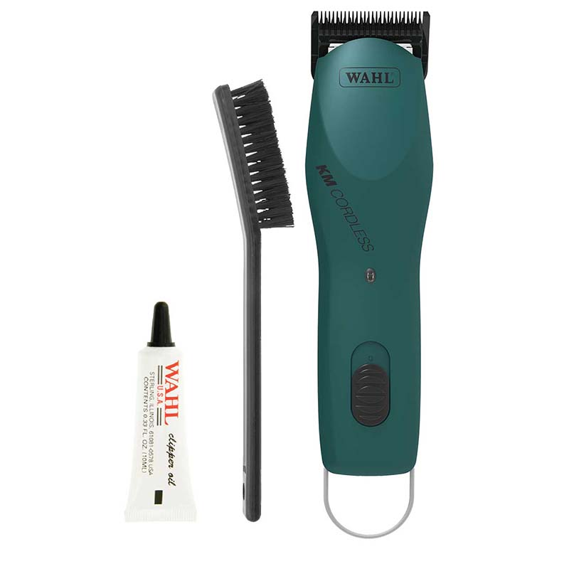 Kit for Wahl KM Cordless Grooming Clippers - Emerald Green for Groomers