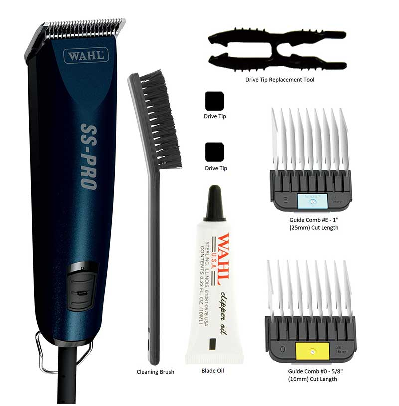 Wahl SS-Pro Clipper Kit with Accessories