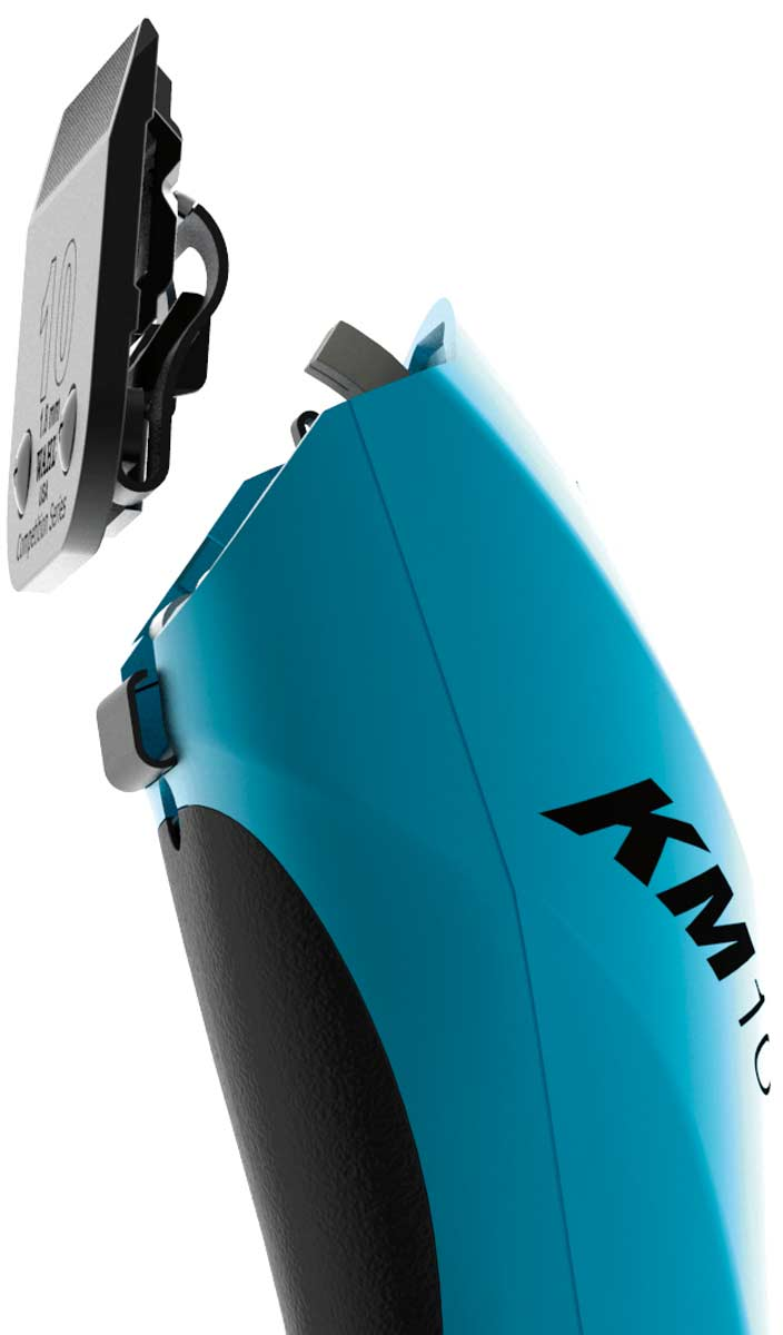 Professional Detachable Blade Wahl KM10 Dog Grooming Clipper Turquoise