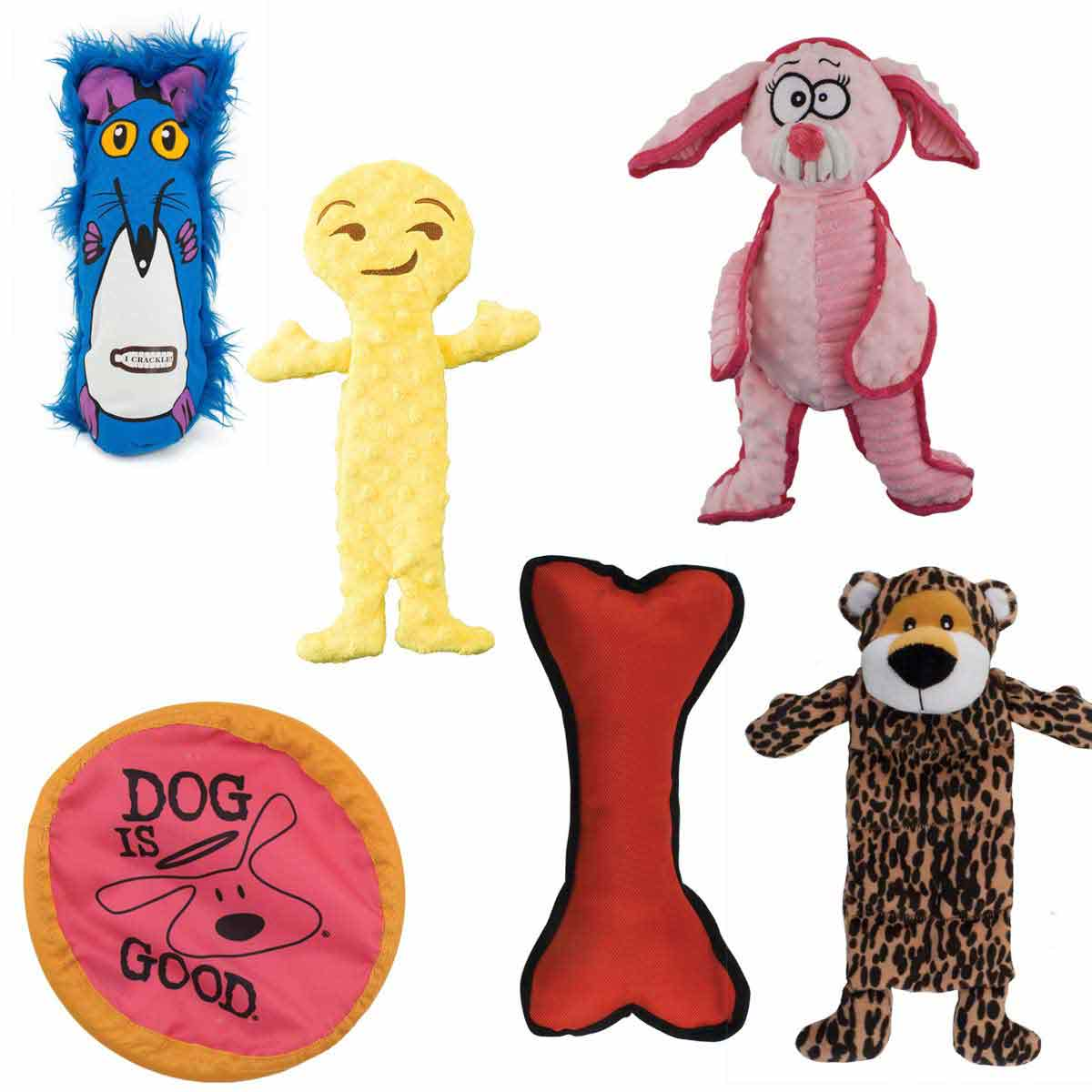 Toy Bundle with 36 Dog Toys
