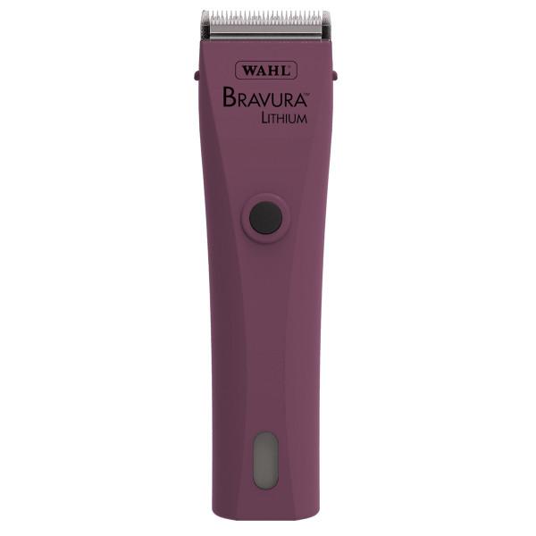 Pink Wahl Bravura Li+ Grooming Clipper