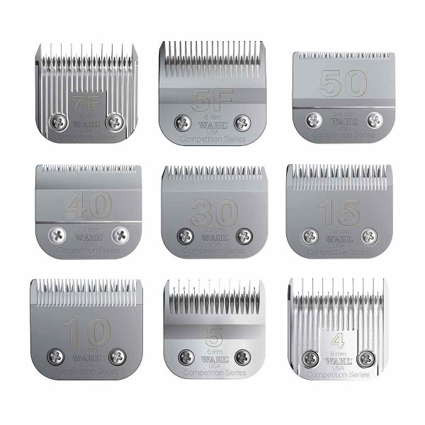 Wahl Competition Series Grooming Blades