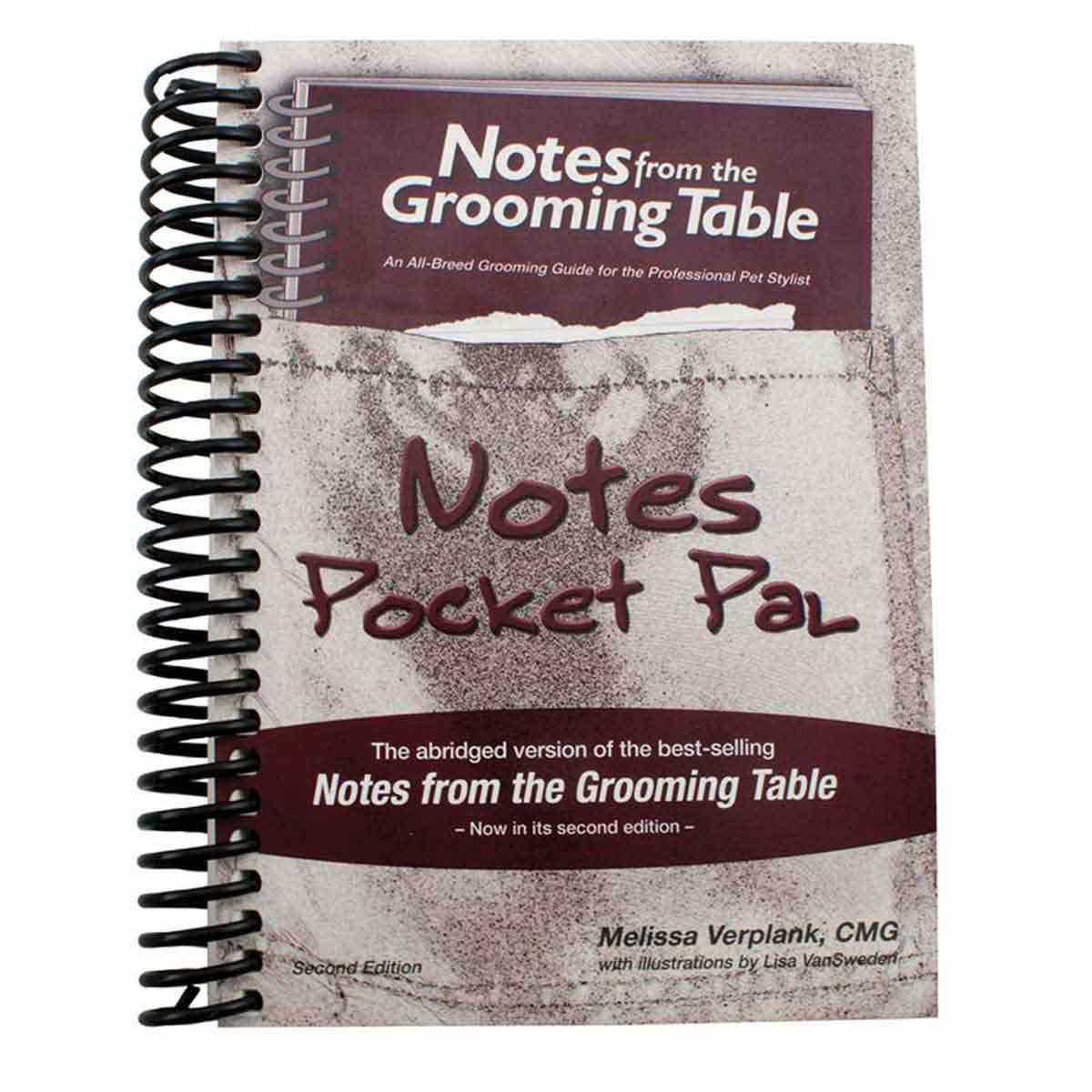 Notes From The Grooming Table: An All-Breed Grooming Guide for the Professional Pet Stylist - Notes Pocket Pal