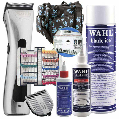 Wahl Figura Grooming Student Kit includes DVD, Tote Bag, Grooming Clippers and more