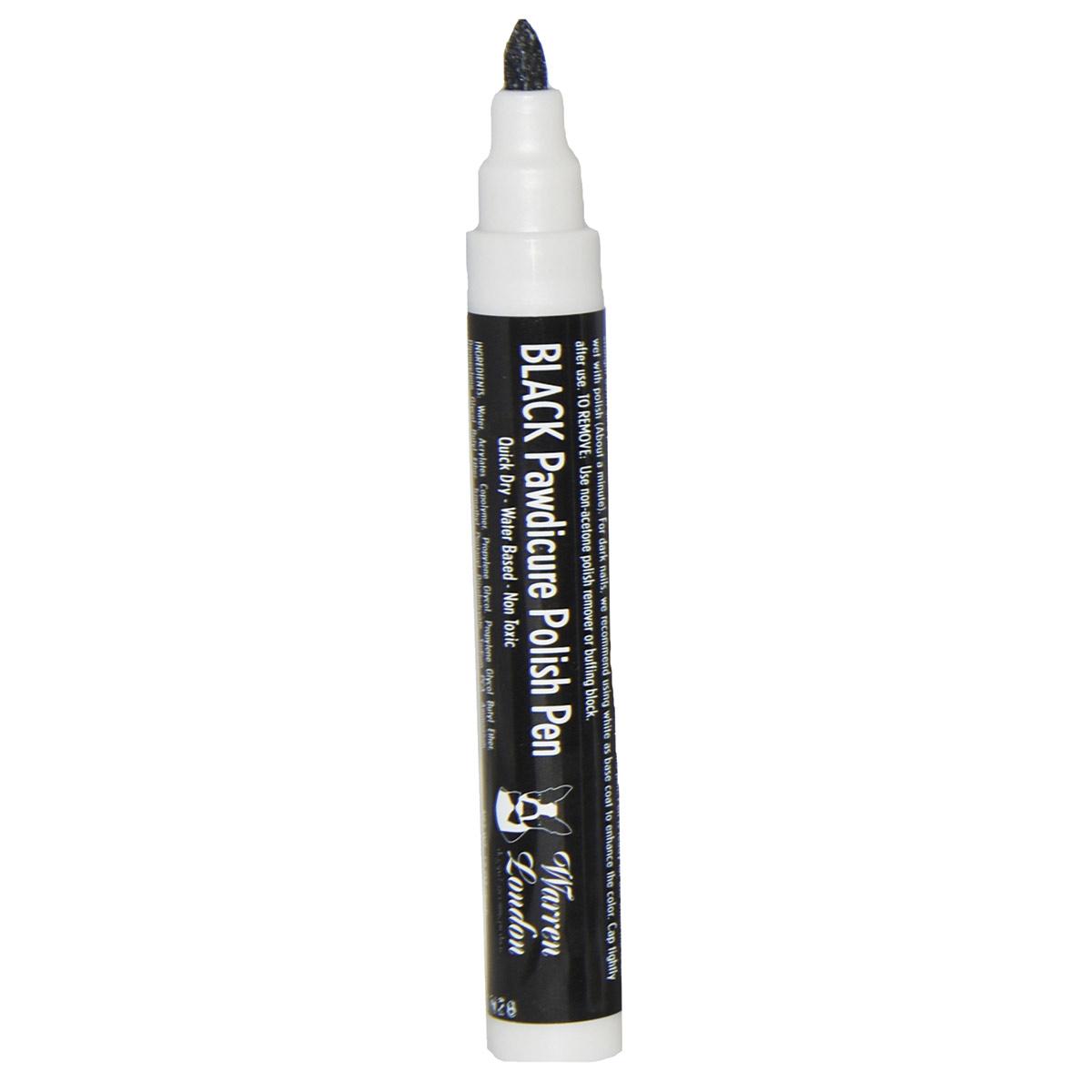 Warren London Pawdicure Polish Pen for Dogs - Black