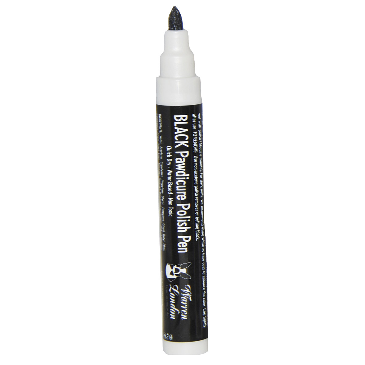 Warren London Pawdicure Polish Pen for Dogs - Black