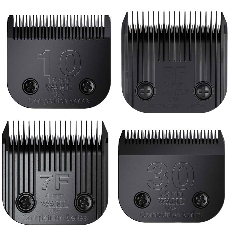 Wahl Ultimate Competition Series Blade Kit Includes 10, 5F, 7F and 30