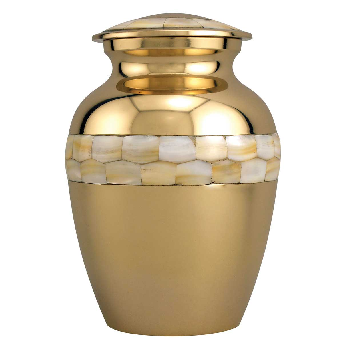Large Pet Urn - Mother of Pearl