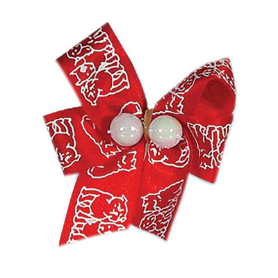 Fancy Finshies Premium Bows Specialty Prints With Two Beads