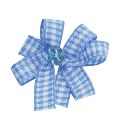 Fancy Finishes Gingham Pinwheel Premium Bows