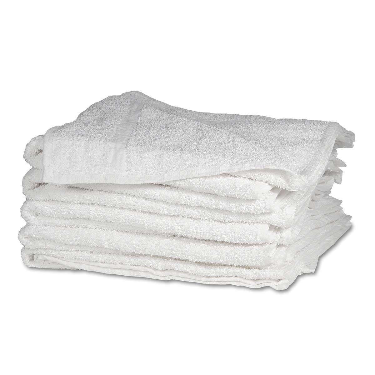 White Groomer Towel - 12 Pack