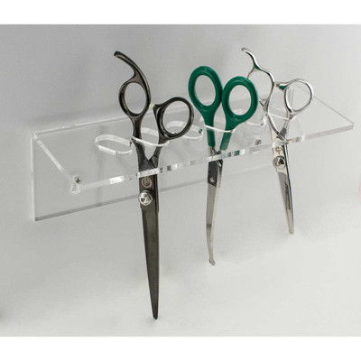Paw Brothers Wall-Mounted Shear Organizer - Holds 6 Shears