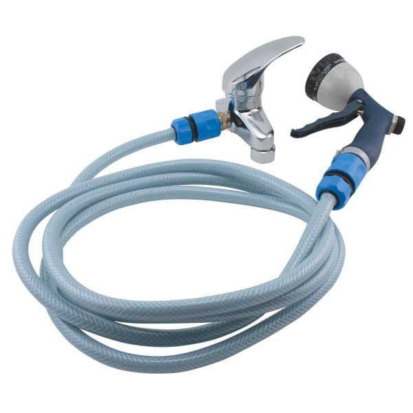 Tub Faucet with Value Groom Quick Connect Hose Sprayer